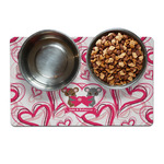 Valentine's Day Dog Food Mat (Personalized)