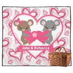 Valentine's Day Outdoor Picnic Blanket (Personalized)