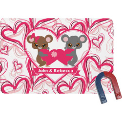 Valentine's Day Rectangular Fridge Magnet (Personalized)