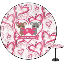 "Valentine's Day Round Table - 30"" (Personalized)"