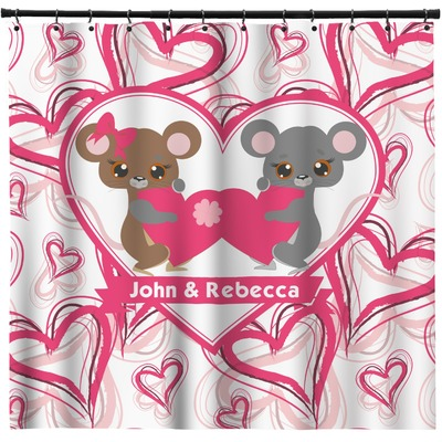 Valentine's Day Shower Curtain (Personalized)