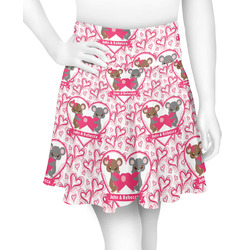 Valentine's Day Skater Skirt (Personalized)