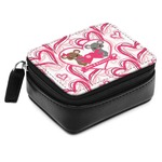 Valentine's Day Small Leatherette Travel Pill Case (Personalized)