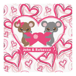 Valentine's Day Square Decal (Personalized)