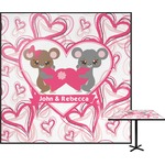 Valentine's Day Square Table Top (Personalized)