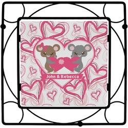 Valentine's Day Square Trivet (Personalized)