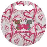 Valentine's Day Stadium Cushion (Round) (Personalized)