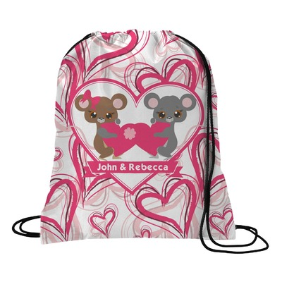 Valentine's Day Drawstring Backpack (Personalized)