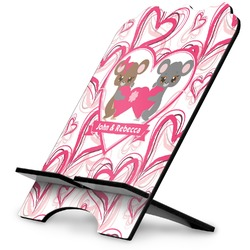 Valentine's Day Stylized Tablet Stand (Personalized)