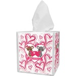 Valentine's Day Tissue Box Cover (Personalized)