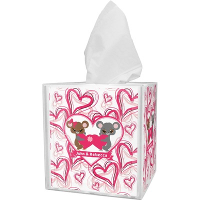 Valentine's Day Tissue Box Cover (Personalized)