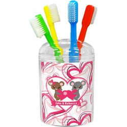 Valentine's Day Toothbrush Holder (Personalized)