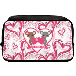 Valentine's Day Toiletry Bag / Dopp Kit (Personalized)