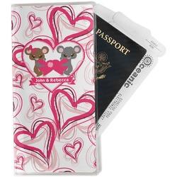 Valentine's Day Travel Document Holder