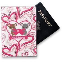 Valentine's Day Vinyl Passport Holder (Personalized)