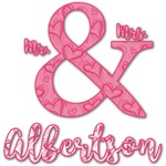 Valentine's Day Graphic Decal - Custom Sizes (Personalized)