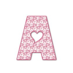 Valentine's Day Letter Decal - Custom Sizes (Personalized)