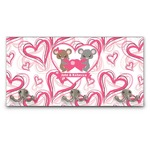 Valentine's Day Wall Mounted Coat Rack (Personalized)