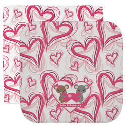 Valentine's Day Facecloth / Wash Cloth (Personalized)