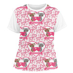 Valentine's Day Women's Crew T-Shirt (Personalized)
