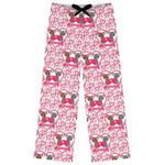 Valentine's Day Womens Pajama Pants (Personalized)