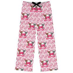 Valentine's Day Womens Pajama Pants (Personalized)