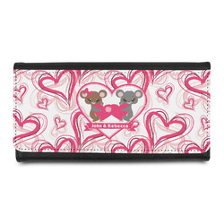 Valentine's Day Leatherette Ladies Wallet (Personalized)