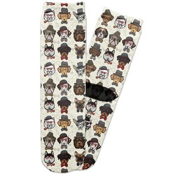 Hipster Dogs Adult Crew Socks (Personalized)
