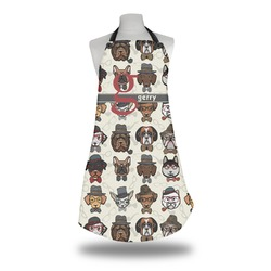 Hipster Dogs Apron w/ Name and Initial