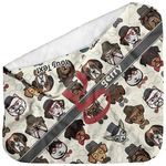 Hipster Dogs Baby Hooded Towel (Personalized)