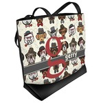 Hipster Dogs Beach Tote Bag (Personalized)