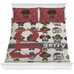 Hipster Dogs Comforter Set (Personalized)