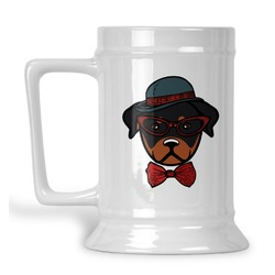 Hipster Dogs Beer Stein (Personalized)