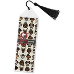 Hipster Dogs Book Mark w/Tassel (Personalized)