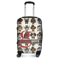 Hipster Dogs Suitcase (Personalized)