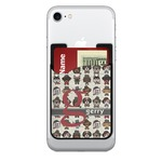 Hipster Dogs 2-in-1 Cell Phone Credit Card Holder & Screen Cleaner (Personalized)