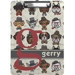 Hipster Dogs Clipboard (Personalized)