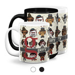 Hipster Dogs Coffee Mugs (Personalized)