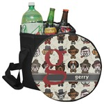 Hipster Dogs Collapsible Cooler & Seat (Personalized)