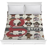 Hipster Dogs Comforter (Personalized)