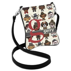 Hipster Dogs Cross Body Bag - 2 Sizes (Personalized)
