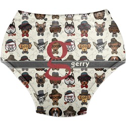 Hipster Dogs Diaper Cover (Personalized)
