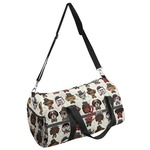 Hipster Dogs Duffel Bag (Personalized)
