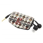 Hipster Dogs Genuine Leather Cord Wrap (Personalized)