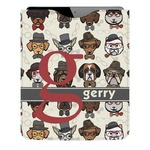Hipster Dogs Genuine Leather iPad Sleeve (Personalized)