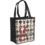 Hipster Dogs Grocery Bag (Personalized)