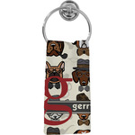 Hipster Dogs Hand Towel - Full Print (Personalized)