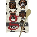 Hipster Dogs Kitchen Towel - Full Print (Personalized)