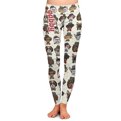 Hipster Dogs Ladies Leggings (Personalized)