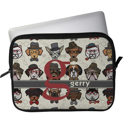 "Hipster Dogs Laptop Sleeve / Case - 15"" (Personalized)"